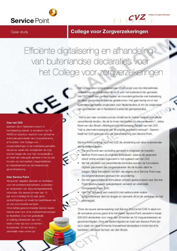 Service Point  Archief study   Case digitaliseren                            Digitaal archief                             ...