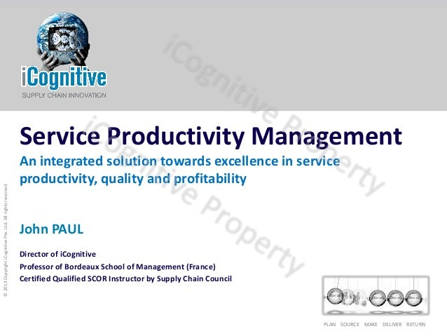 Service Productivity Management_SPM_iCognitive