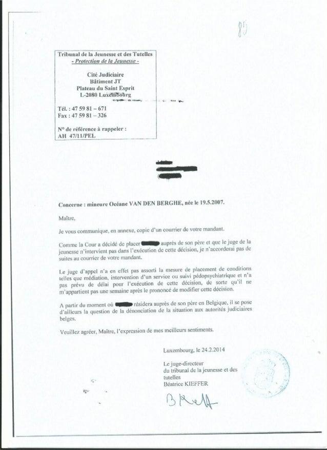Service protection jeunesse (anonyme) La fuite ?
