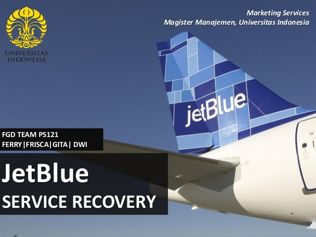 jetblue case study services marketing