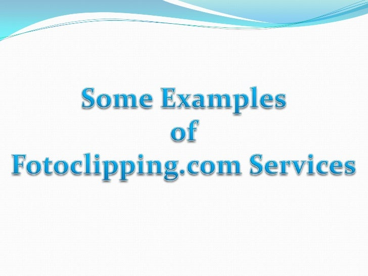 fotoclipping.com Services