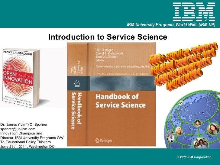 Service science intro 20110606 v1