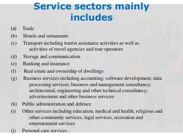 Service Sector Presentation