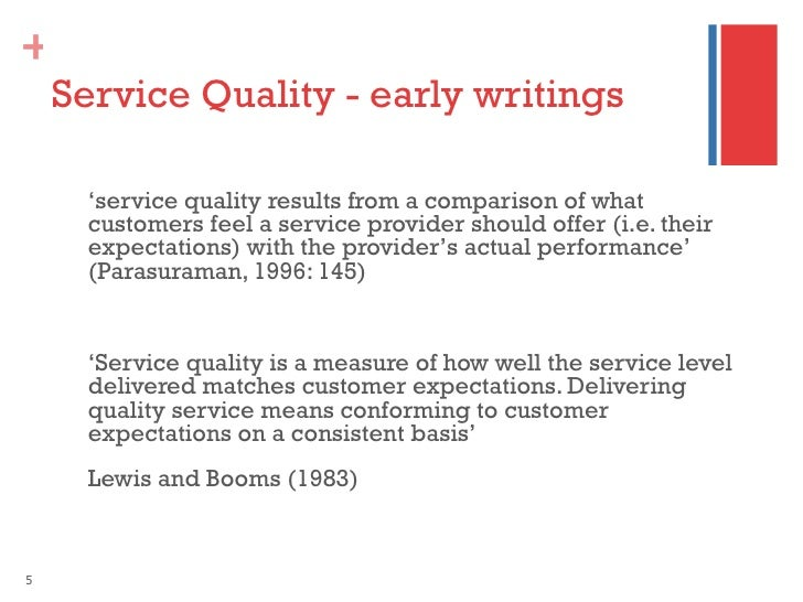 Research paper on hotel service quality