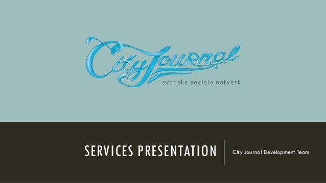 City Journal Services presentation