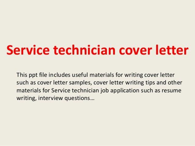 automotive service technician cover letter