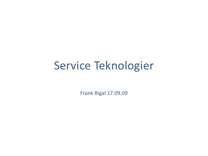 Service Teknologier