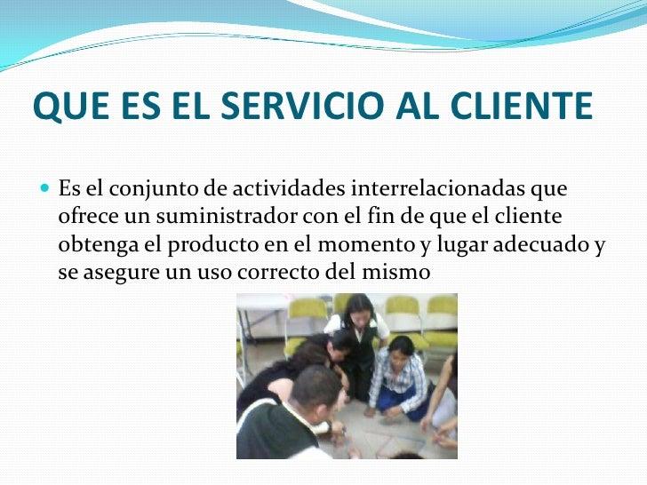 Servicio al cliente y trabajo en equipo uvg final 1 for Servicio de empleo