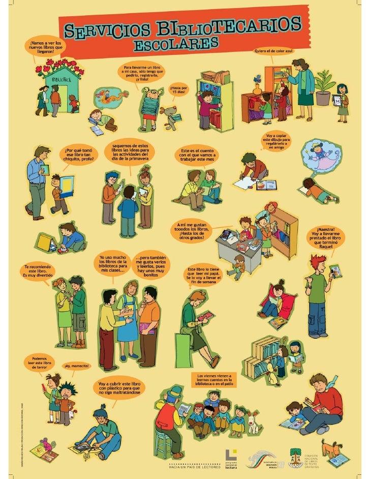 Servicios bibliotecarios escolares
