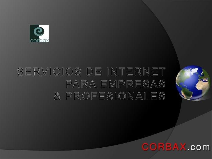 CORBAX.com.Ppt
