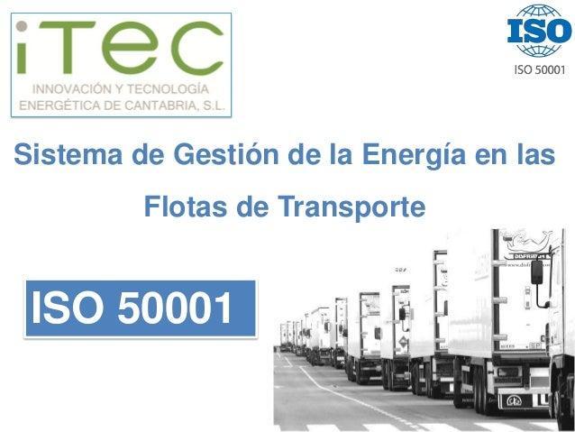Servicios energéticos transporte
