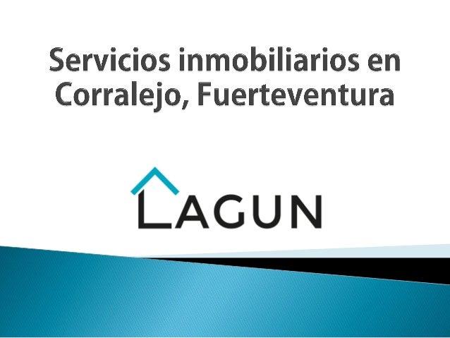 Servicios Inmobiliarios En Corralejo Fuerteventura