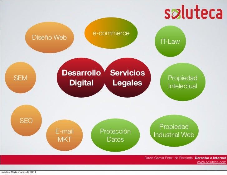 e-commerce                       Diseño Web                                                              IT-Law           ...