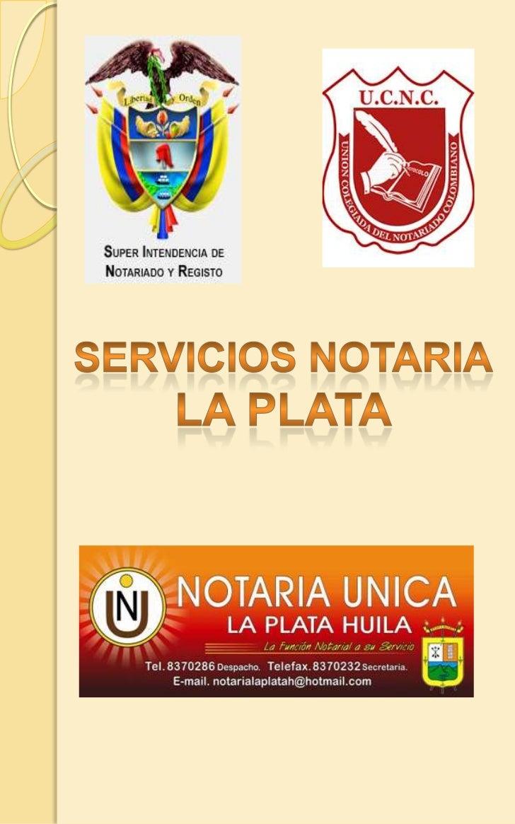 Servicios notaria<br />La plata<br />