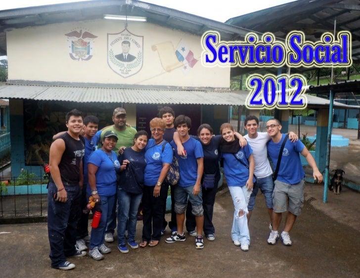 Servicio social 2012