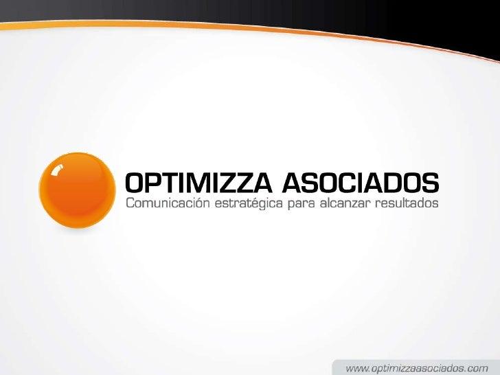 Servicios Optimizza Asociados