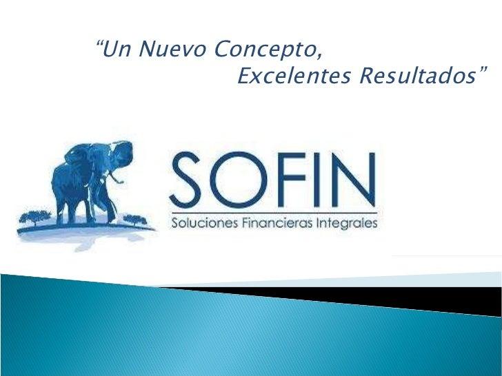 SOFIN Servicios