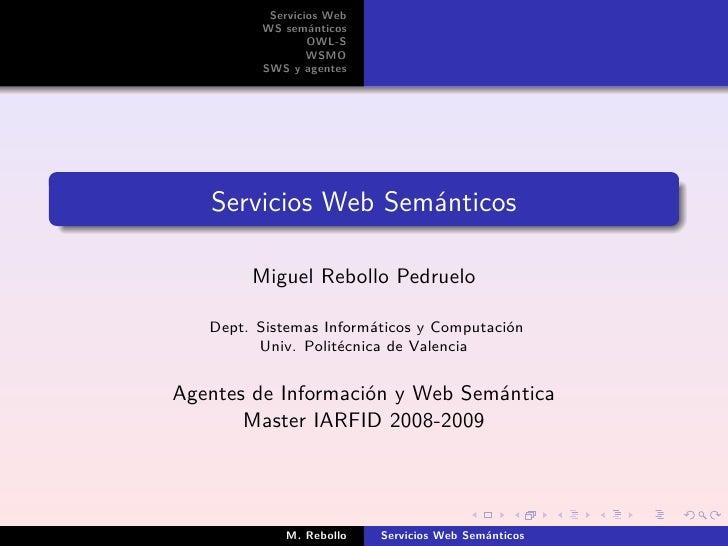 Servicios web semánticos
