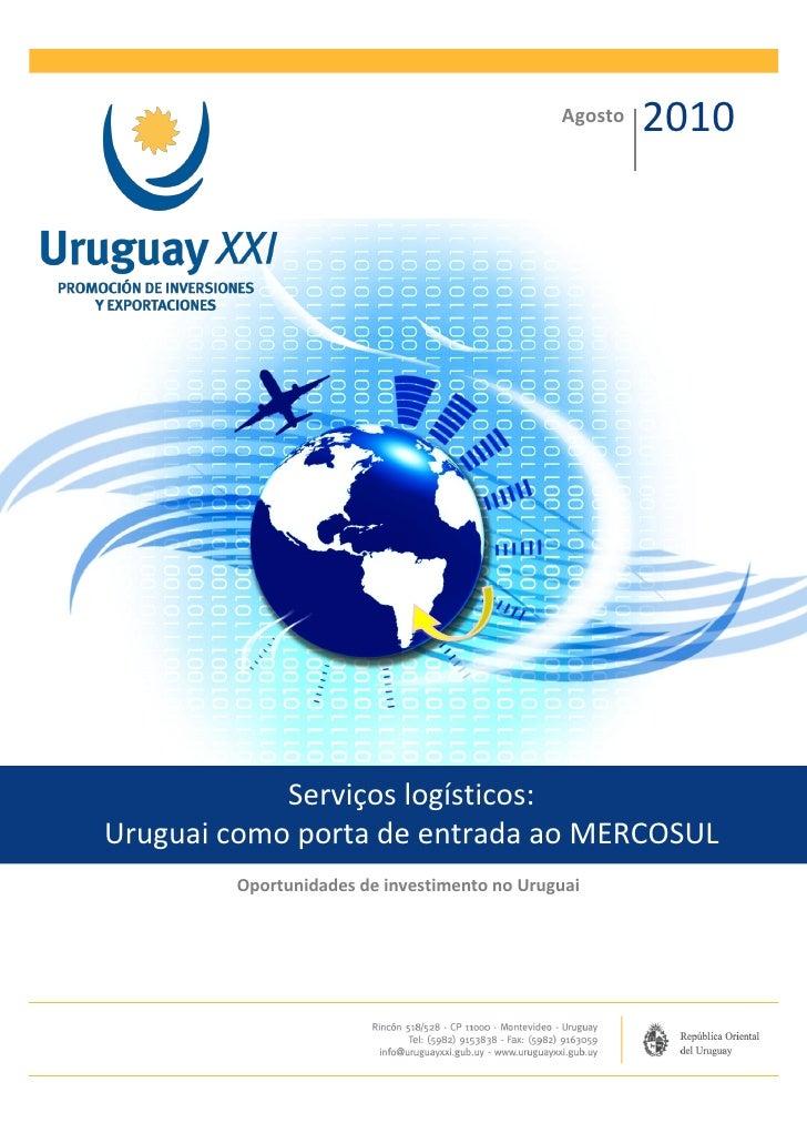 Serviços Logísticos (Ago 2010) (Português)
