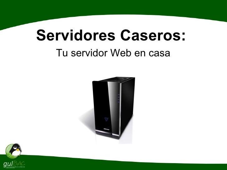 Servidores Web en GNU/Linux