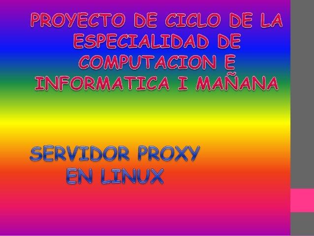 Un servidor es un punto de intersección , conexión o unión de uno o varios elementos( computadoras , impresoras u otros di...