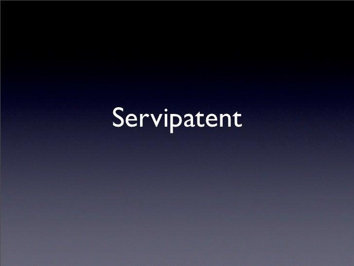 Servipatent