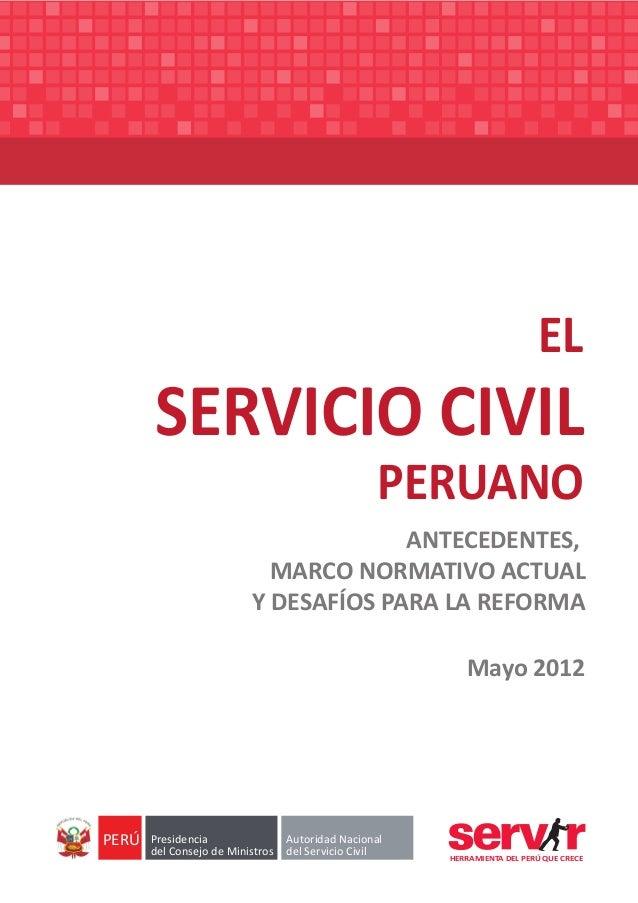 Servir   el servicio civil peruano