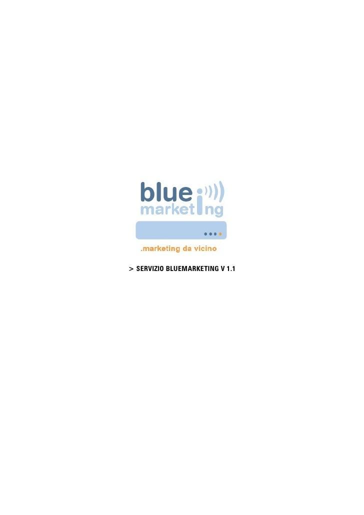 Servizio Bluemarketing Bv1.1