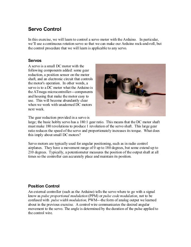 Servo control(print4)