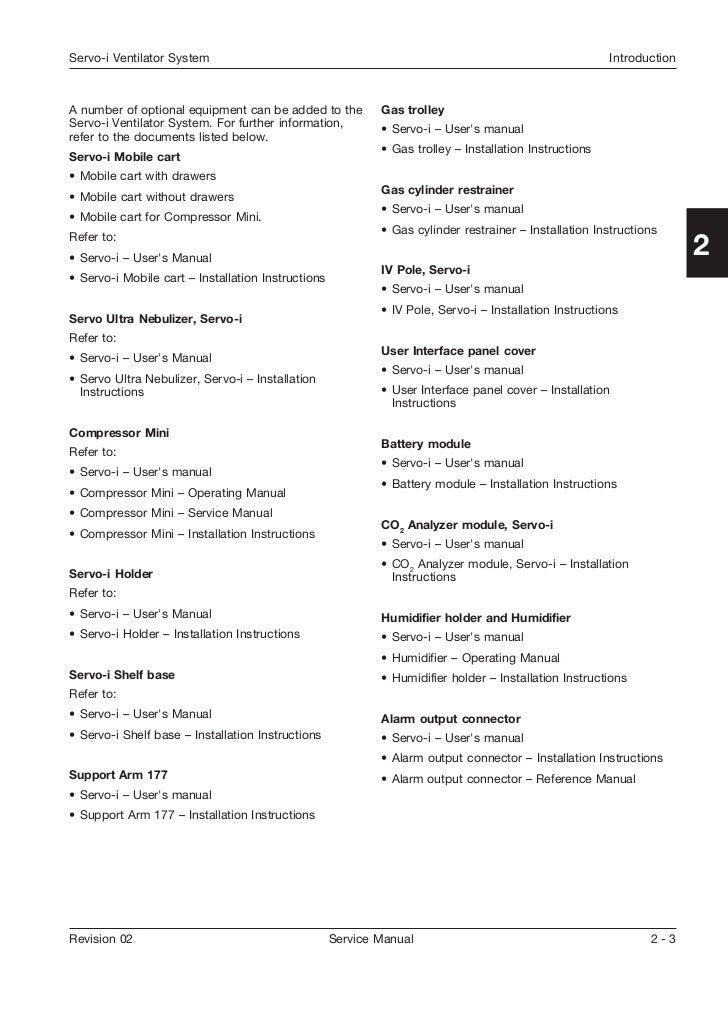 maquet servo u user manual pdf