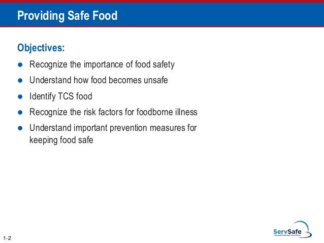 Which Storage Method May Cause Tcs Food To Become Unsafe Impressive Servsafe Comprehensive Pptfull