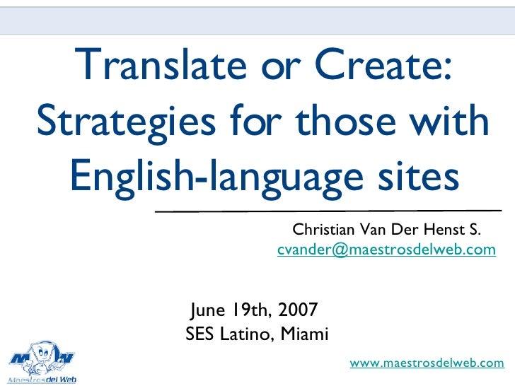 SES Latino 2007