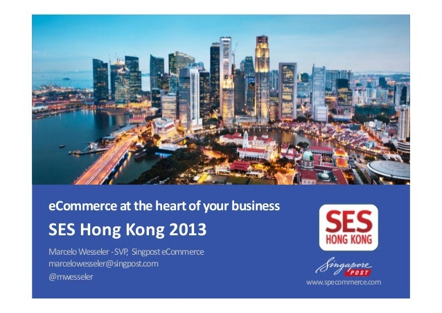 SES Hong Kong - eCommerce Essentials for Asia