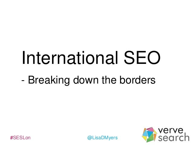 International SEO at SES London 2014 #SESLon