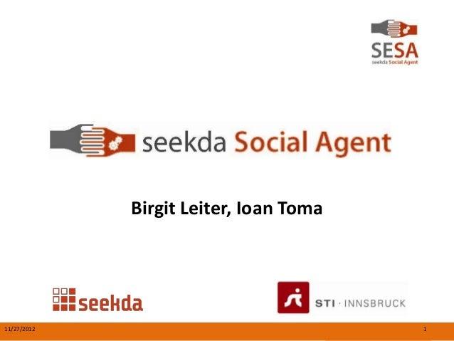 Birgit Leiter, Ioan Toma11/27/2012                              1