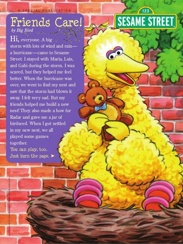 Sesame Street Hurricane Kit