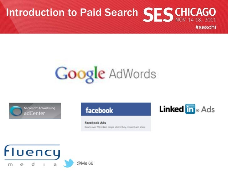 Introduction to Paid Search              @Mel66