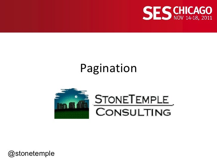 Pagination and SEO - Making it Easy