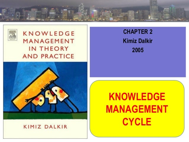 CHAPTER 2 Kimiz Dalkir 2005  KNOWLEDGE MANAGEMENT CYCLE