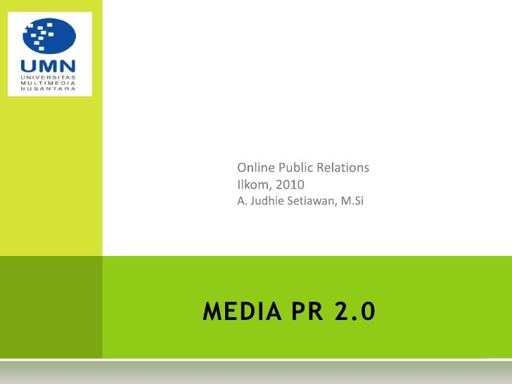 Online Public Relations Sesi 3