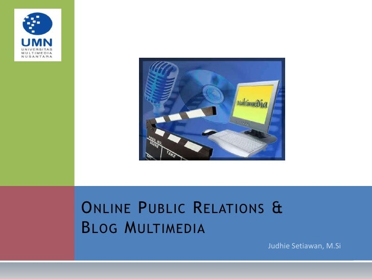 Online PR & Blog