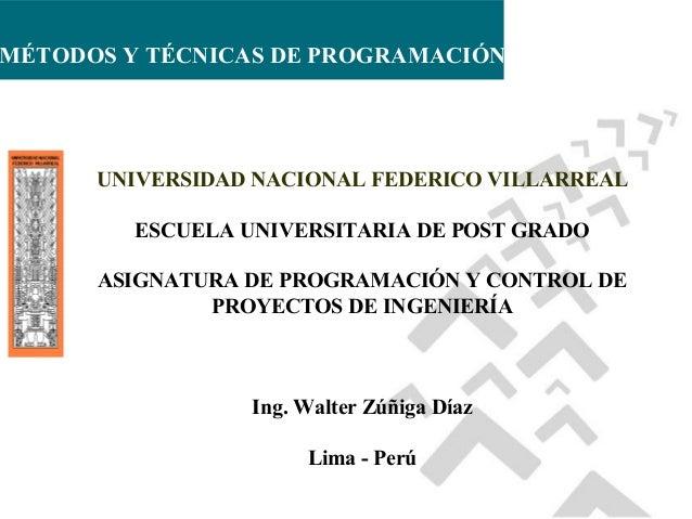 Sesión 3. técnicas prog. proyectos