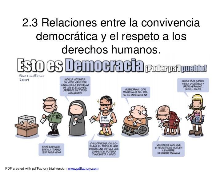 2.3 Relaciones entre la convivencia              democrática y el respeto a los                   derechos humanos.PDF cre...