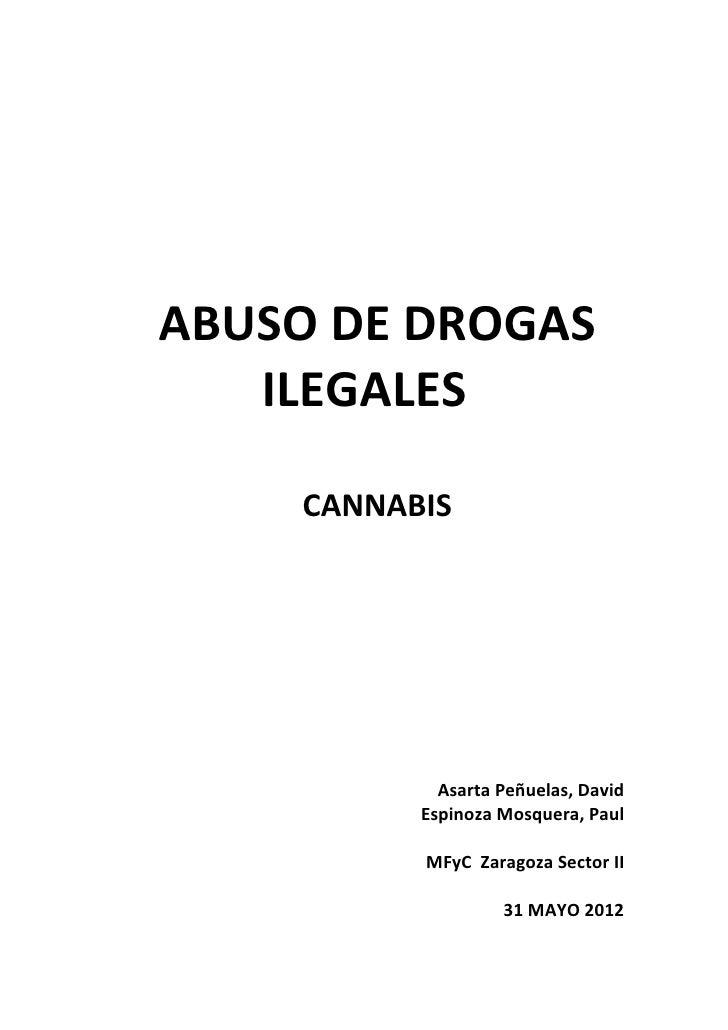 ABUSO DE DROGAS   ILEGALES    CANNABIS            Asarta Peñuelas, David          Espinoza Mosquera, Paul          MFyC Za...