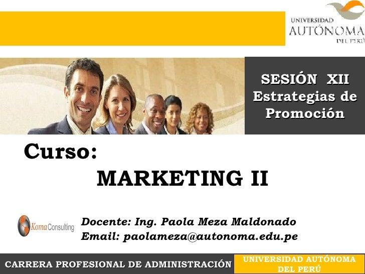 Sesión n.12 comunicación y publicidad