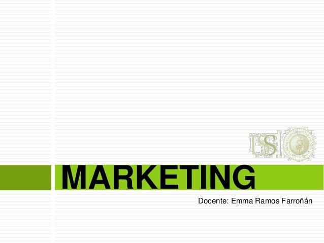 Sesión n° uss marketing