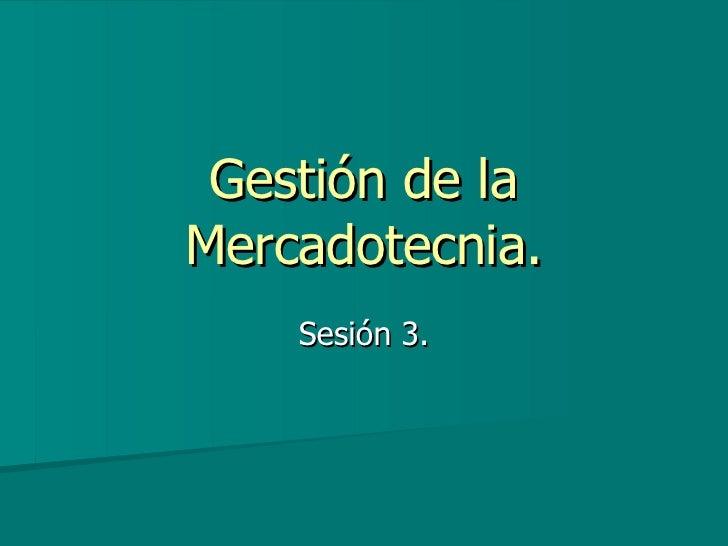 sESION 3