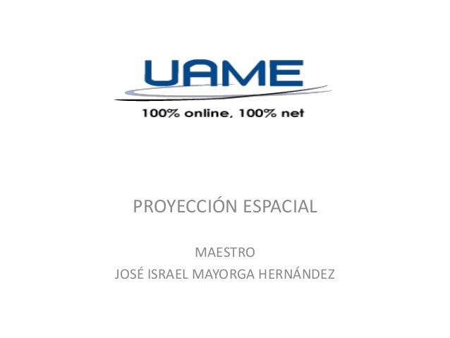 Sesion 15 sistemas de proyecciones conicas