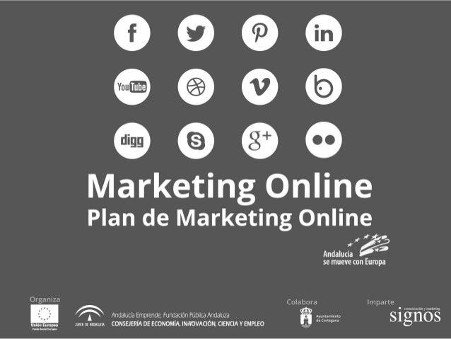 #mkonlinecortegana sesión 2. Plan de Marketing Online