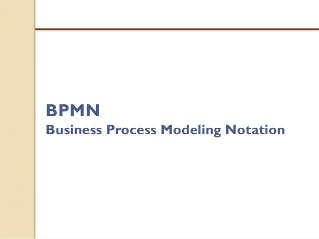 Notación de Gestión de Procesos de Negocio